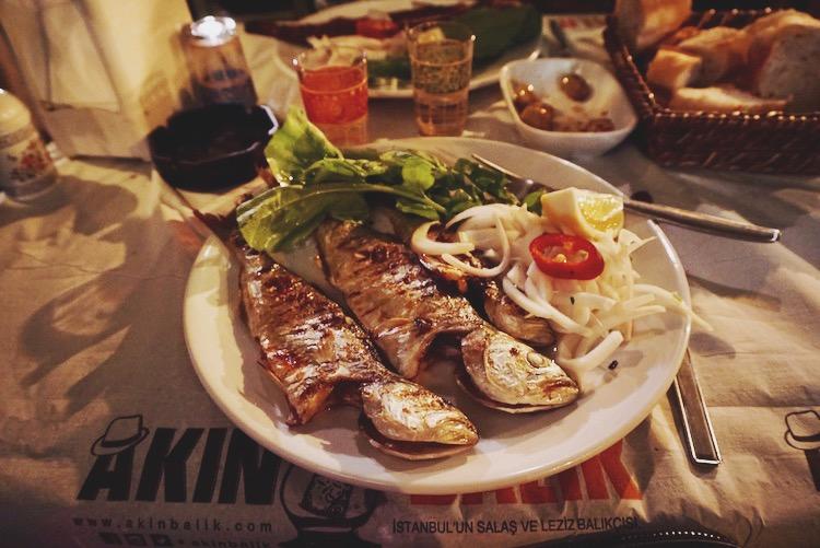 Istanbul food diary - Akin Balik