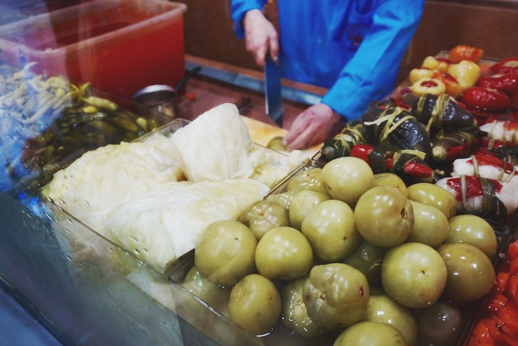 Istanbul food diary - pickles
