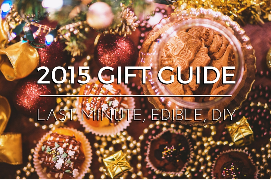Last-minute edible gift ideas | www.paperplatesblog.com