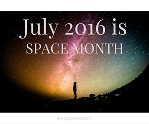 July 2016 is SPACE MONTH at paperplatesblog.com