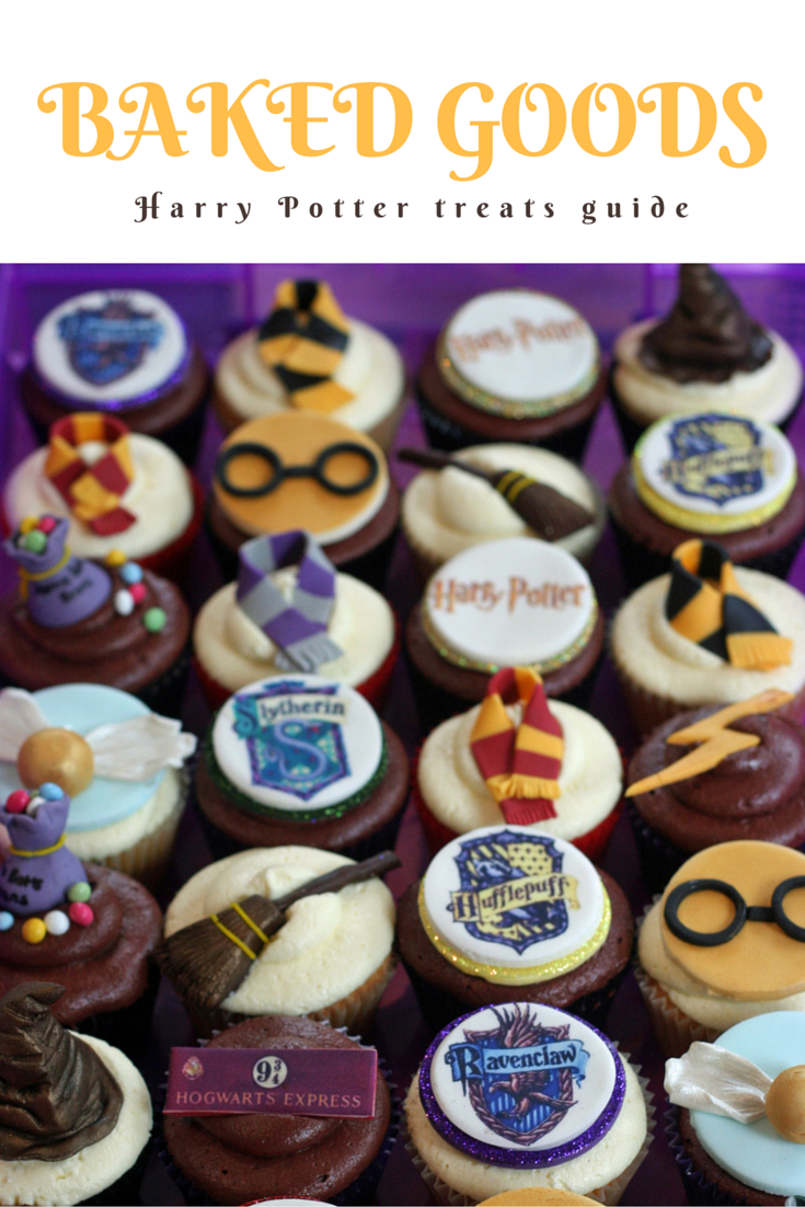 Harry Potter baked goods @paperplatesblog