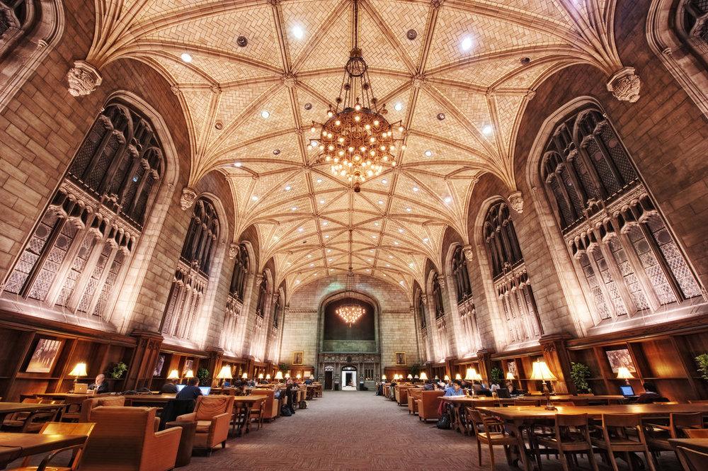 Harper Reading Room, University of Chicago