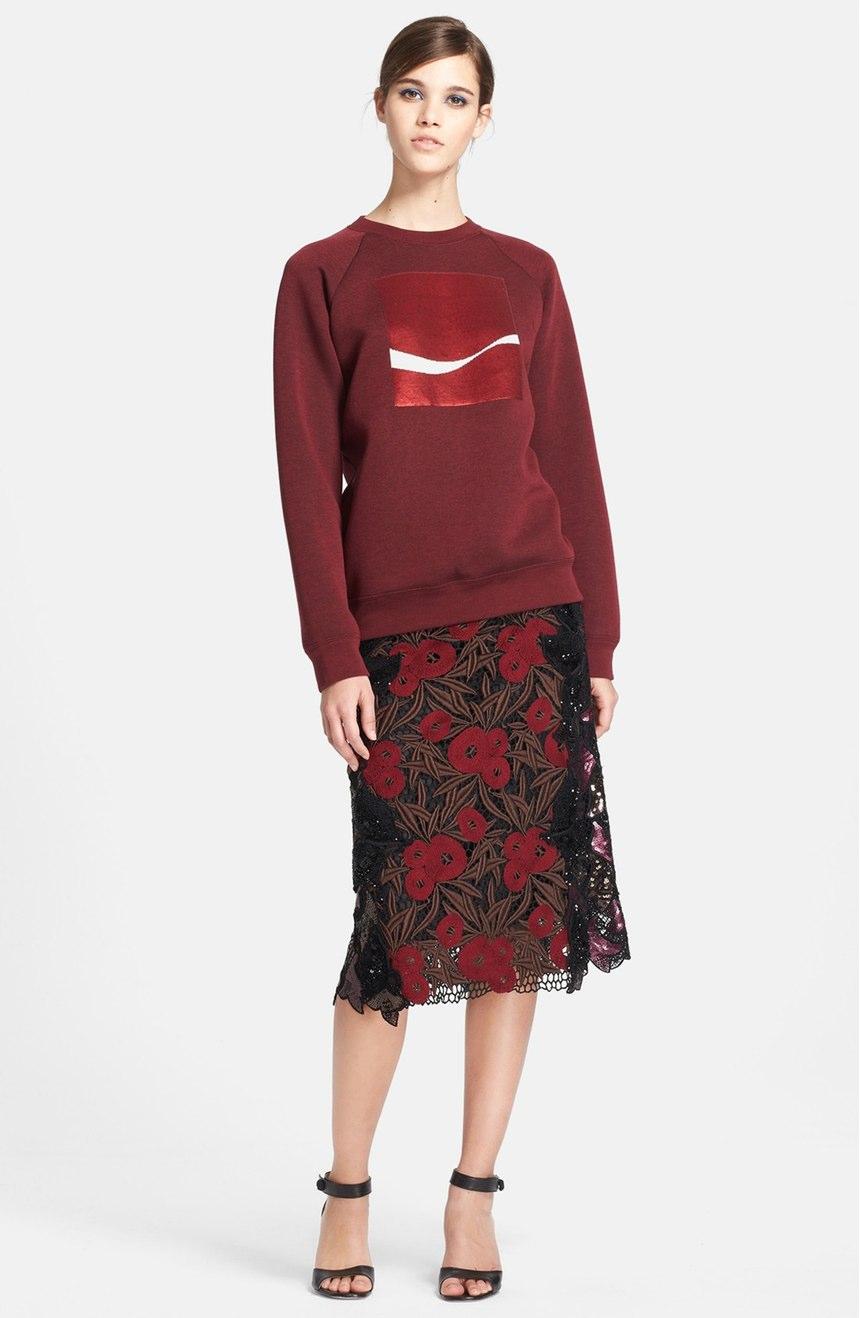 Coca-Cola sweatshirt. Image via Nordstrom.