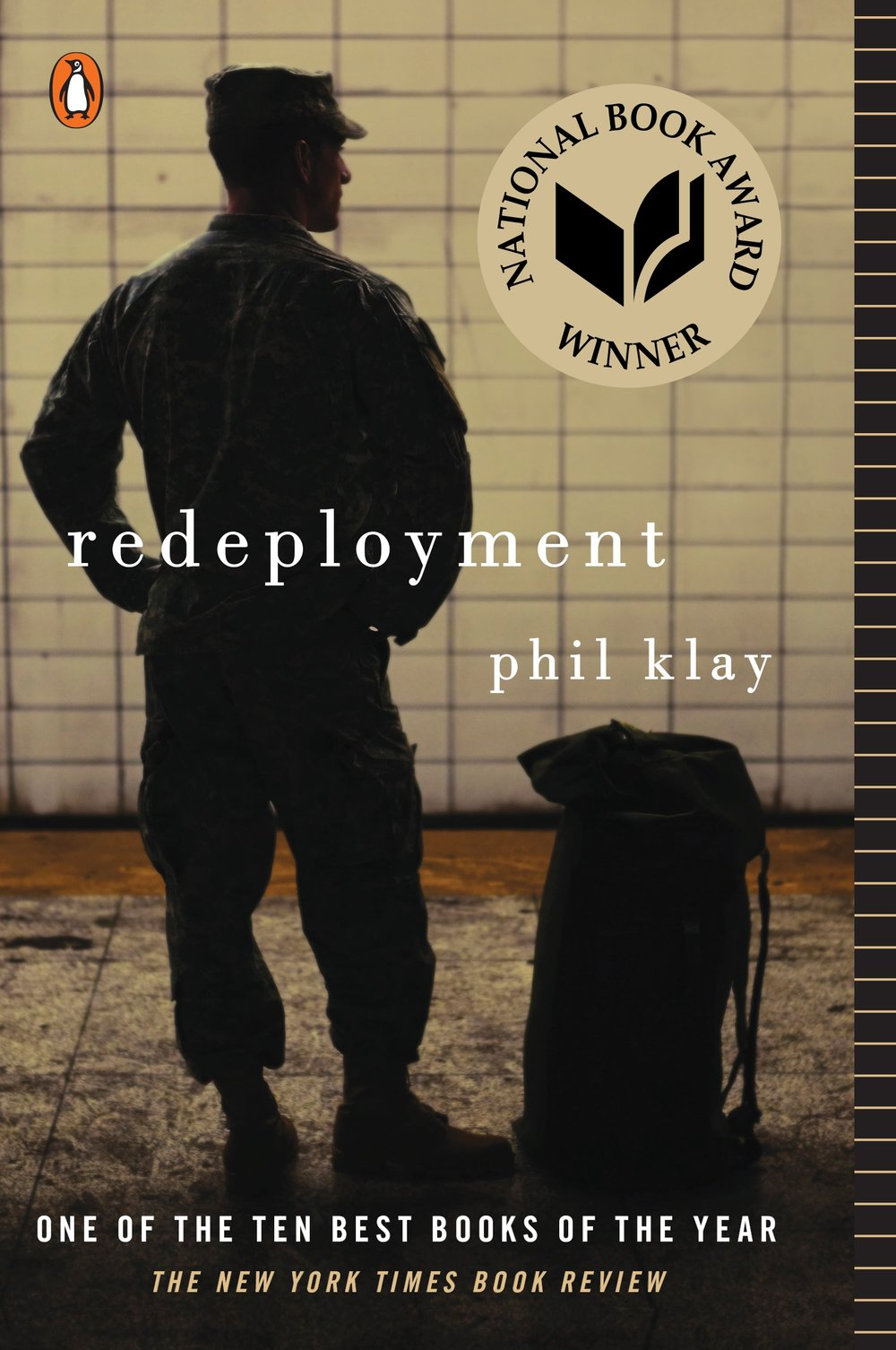 "Book pairing: ""Redeployment"" by Phil Klay & thumbprint cookies"