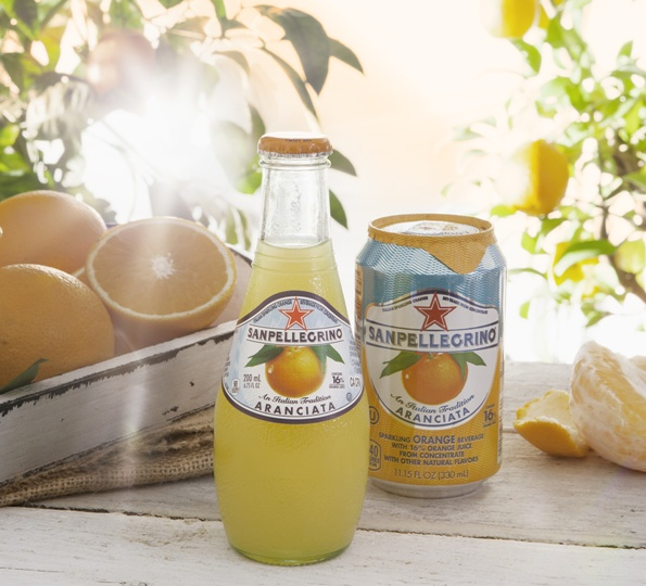 Book club menu: San Pellegrino Aranciata