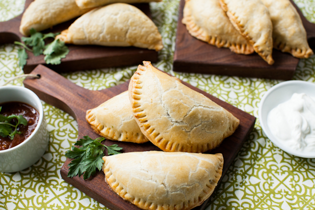 Savory hand pies via The KitchenAid Blog
