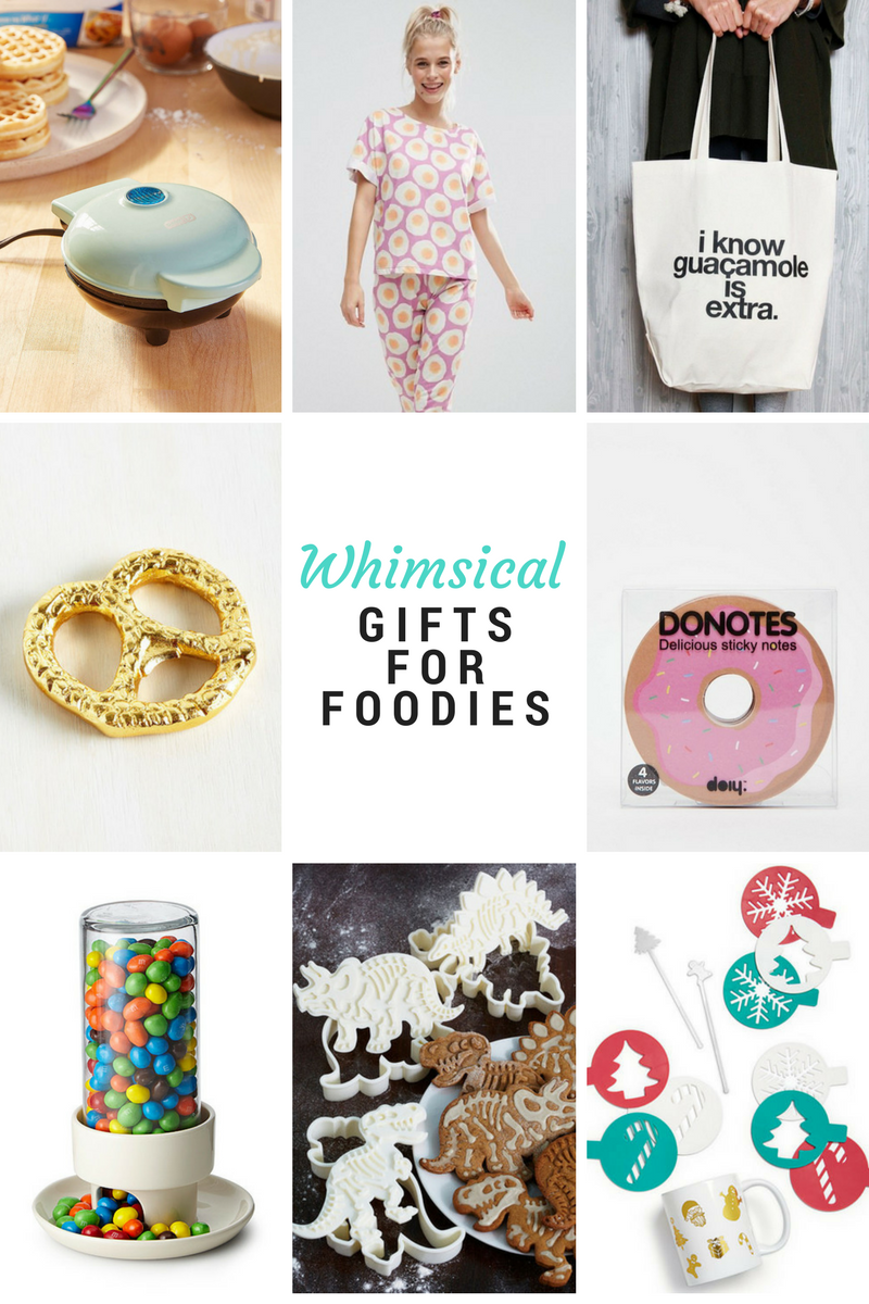 Whimsical gifts for foodies 2016
