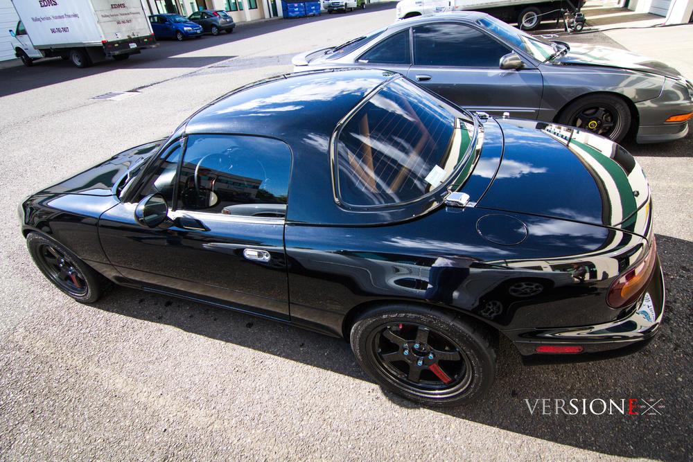 1996 Mazda Miata Solar Guarded!  Window Tint: 28% all around