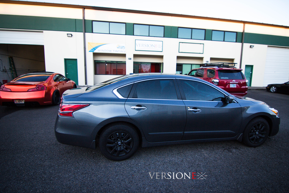 Nissan Altima Solar Guarded! Window Tint: 20% all around