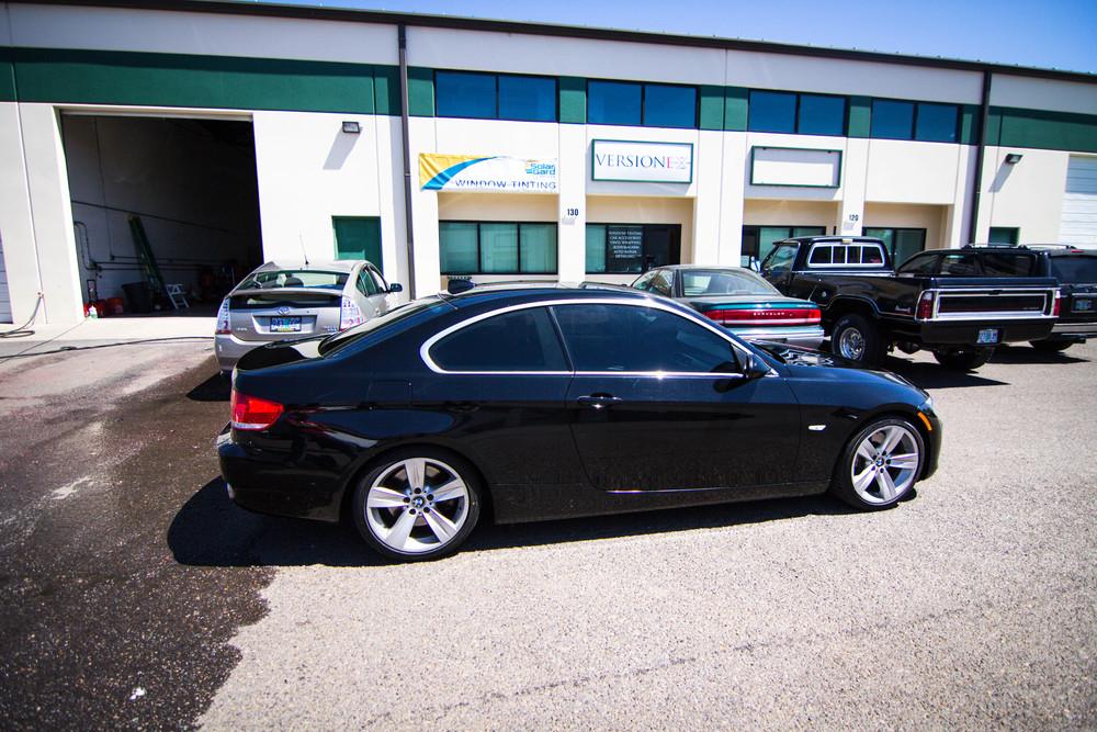 BMW 335i Solar Guarded!  Window Tint: 20% all around