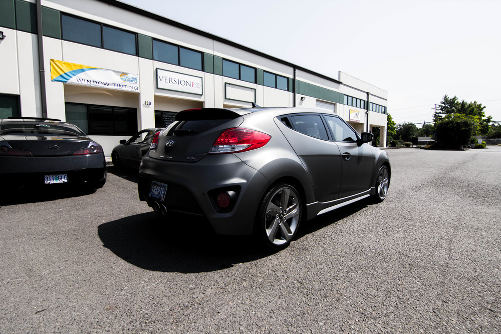 Hyundai Veloster Turbo Solar Guarded up! Window Tint: 30% all around