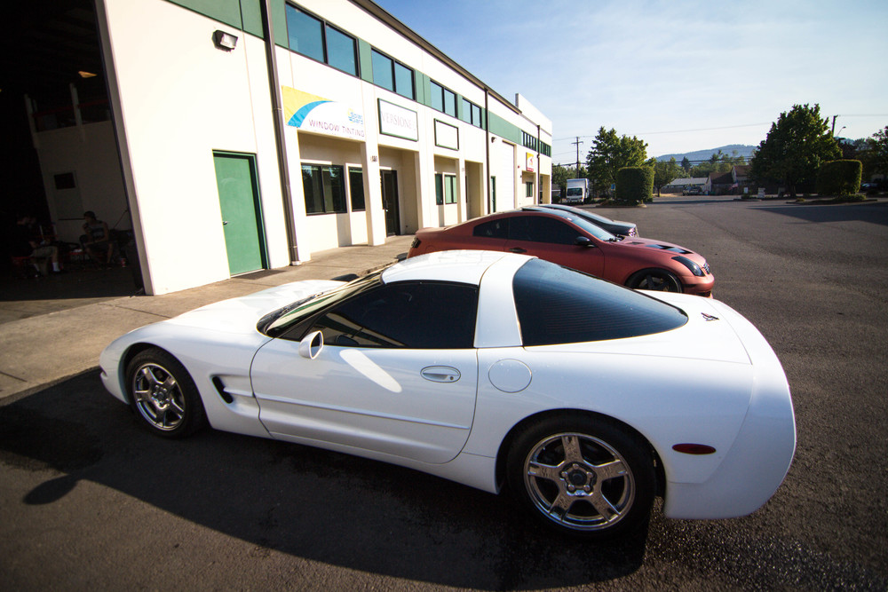 1999 Chevy Corvette Solar Guarded up! Window Tint: 15% all around