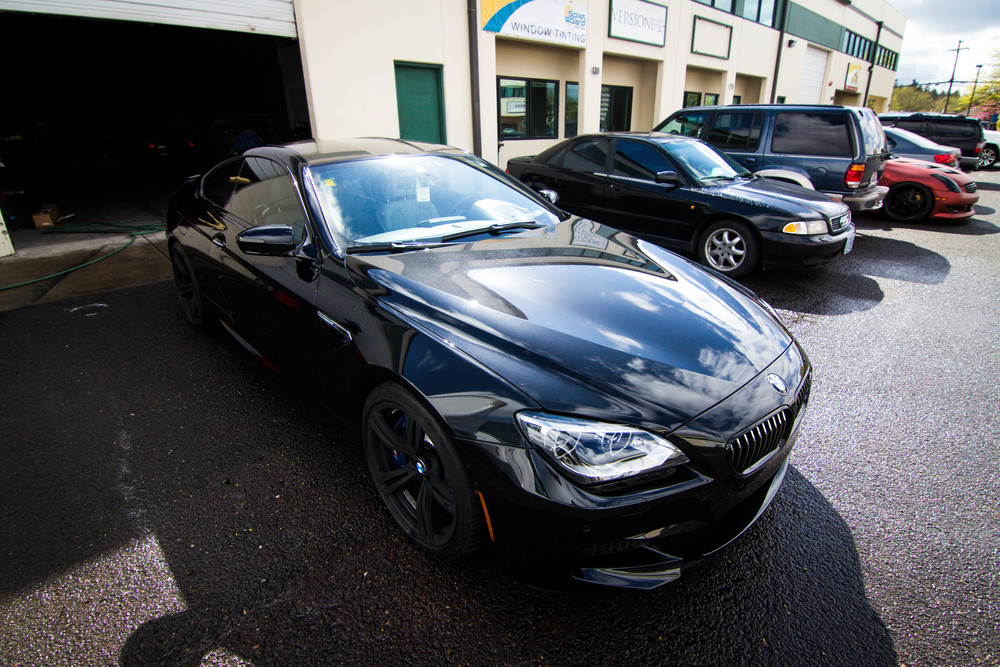 Beautiful BMW M6 Tinted and ready for summer! Window Tint: 35% all around