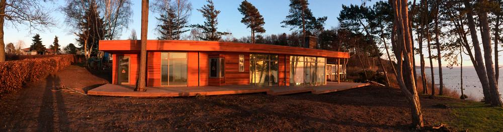 BYG & DESIGN tømrer i Silkeborg, Midtjylland - ombygning sommerhus, renovering, træterasse i cedertræ