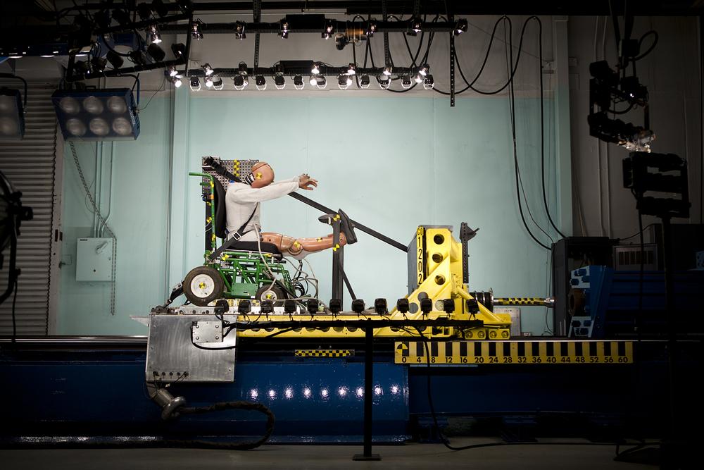 crash test -    University of Michigan Transportation Research Institute