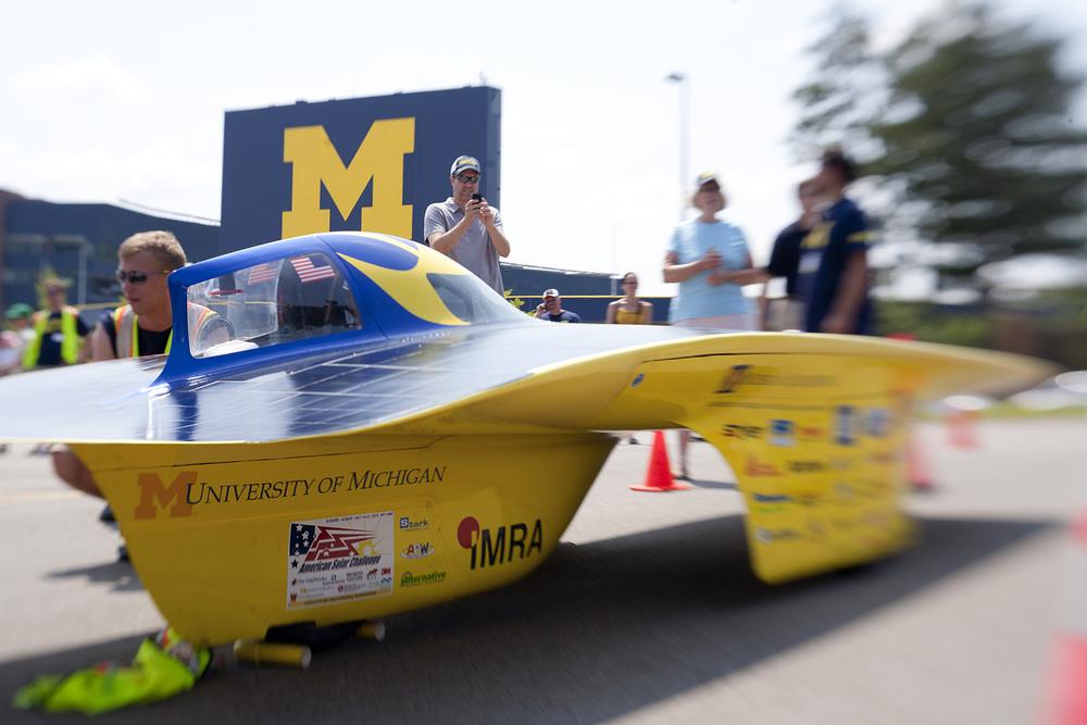 Quantum - UM Solar Car