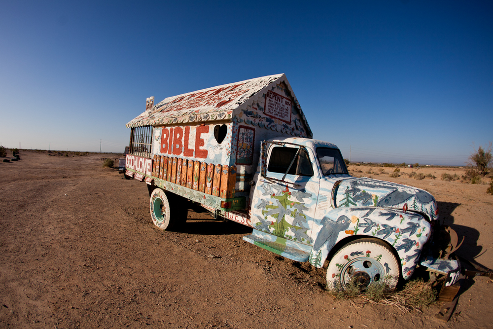 Salvation Mountain , Niland, California