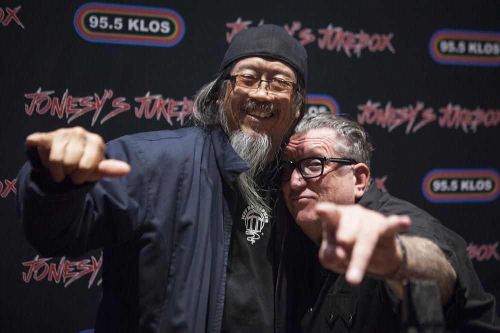 Jeff Ho and Steve Jones of Sex Pistols at LA Times Festival of Books