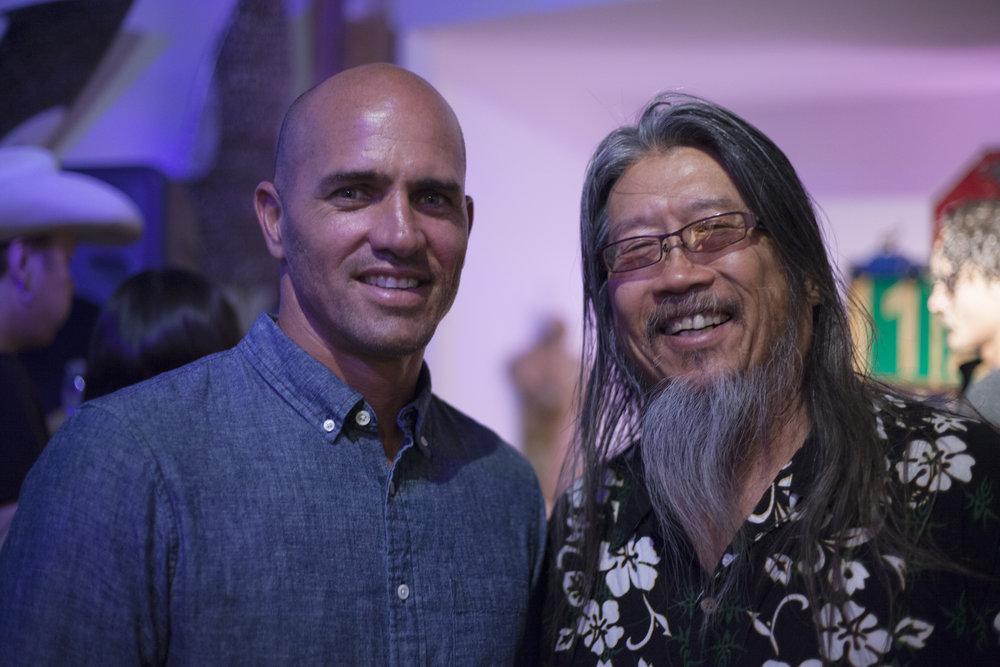 Kelly Slater and Jeff Ho, Venice