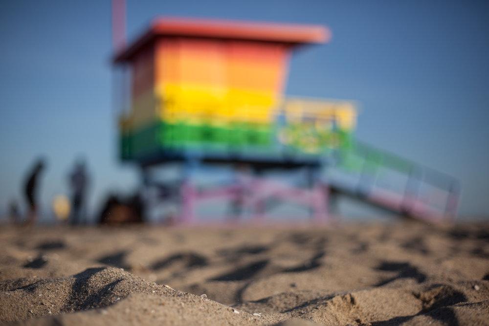 Venice Pride /    Bill Rosendahl Memorial Lifeguard Tower