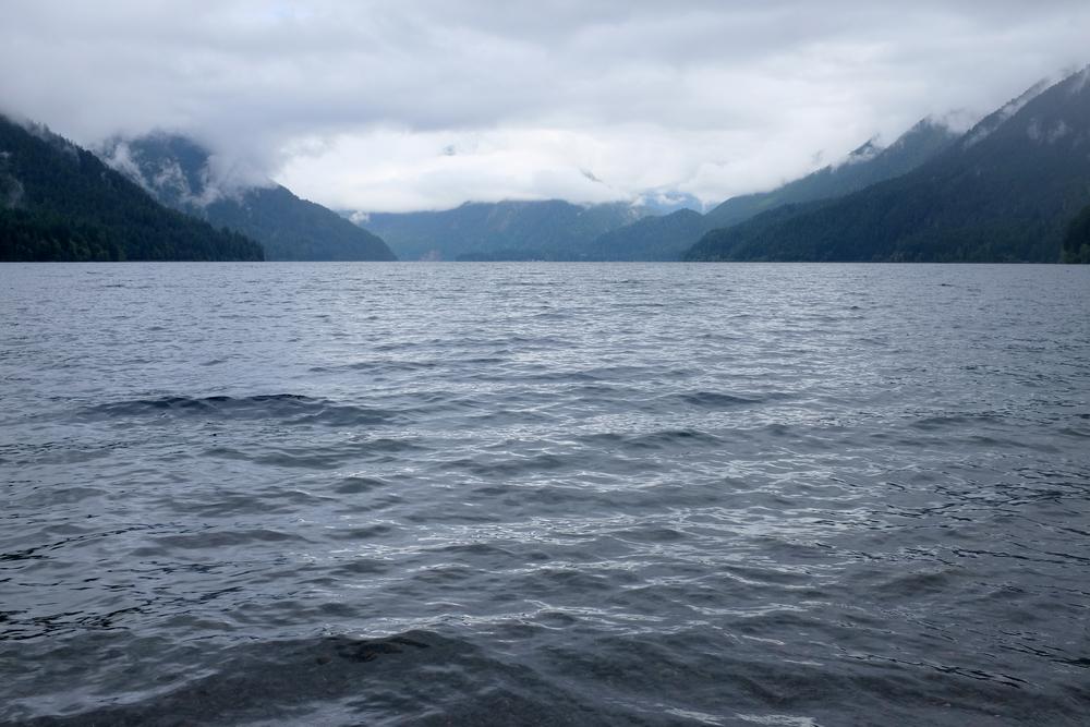 Crescent Lake, Olympic National Park.  Photo by Shishido.