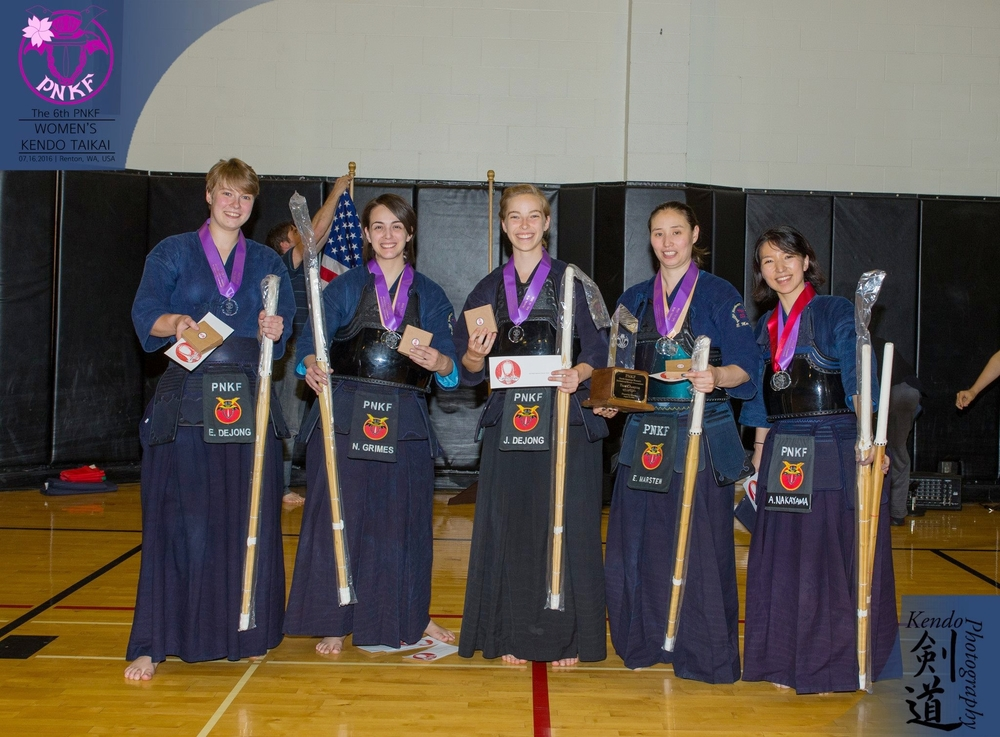 """The 1st place team: PNKF's """"Team A"""""""