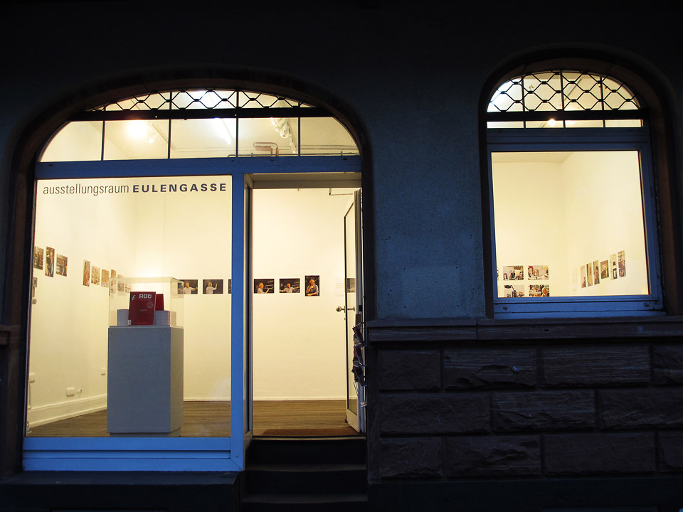 ausstellungsraum eulengasse • portraits of artists and architects brazil •  book fare frankfurt 2013