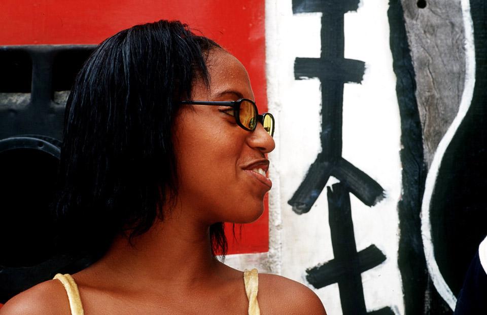 girl, callejon de hamel  , havanna, cuba 1999