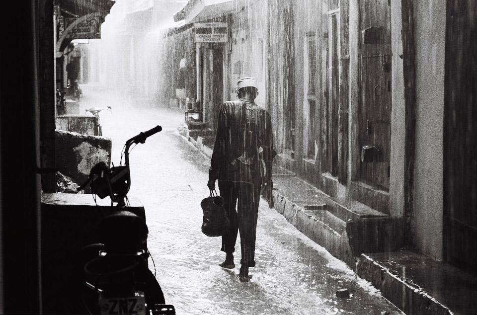 rainy season , zanzibar 1997