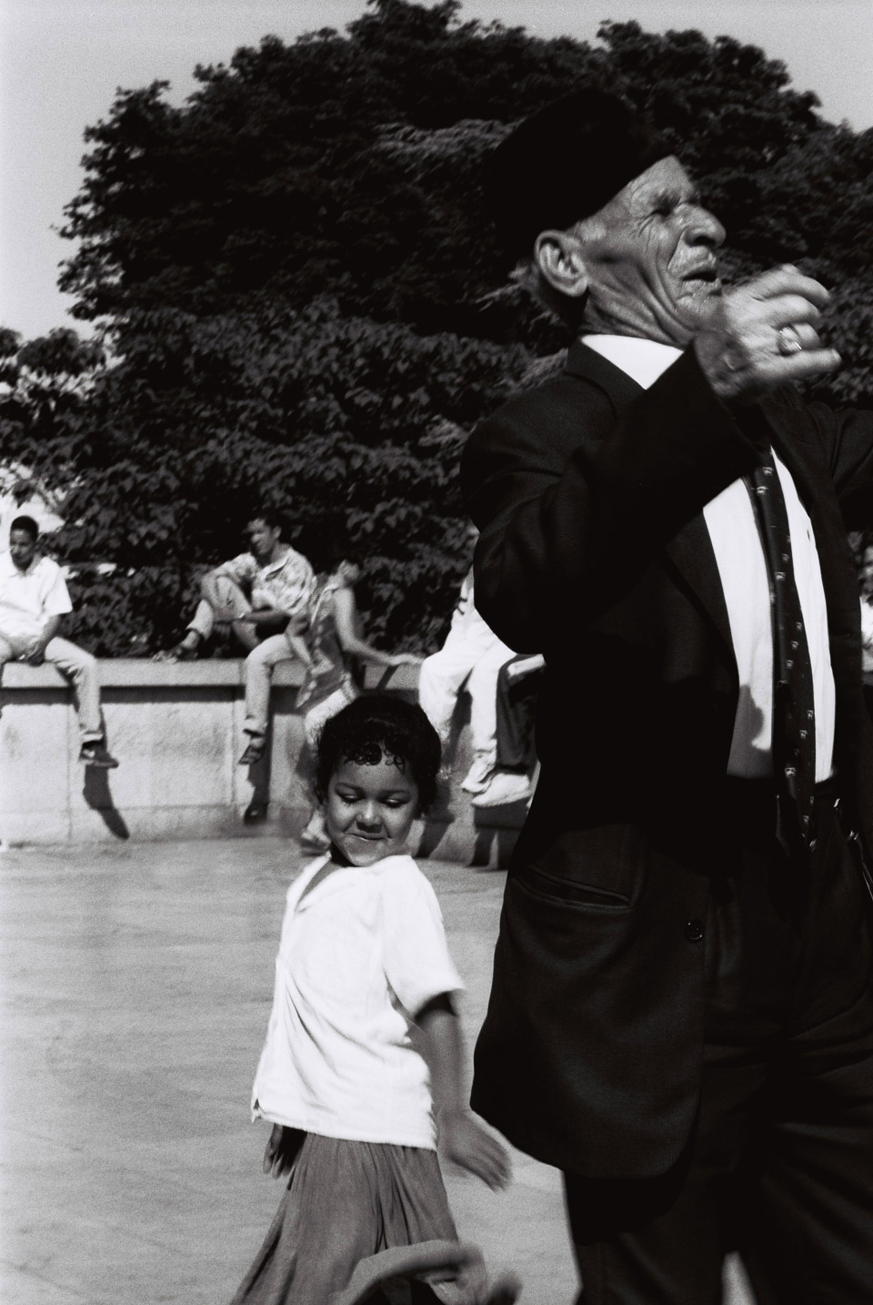 the dancing couple, paris 1996