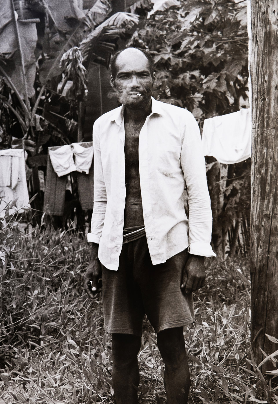 farmer with cigar, brazil 1996