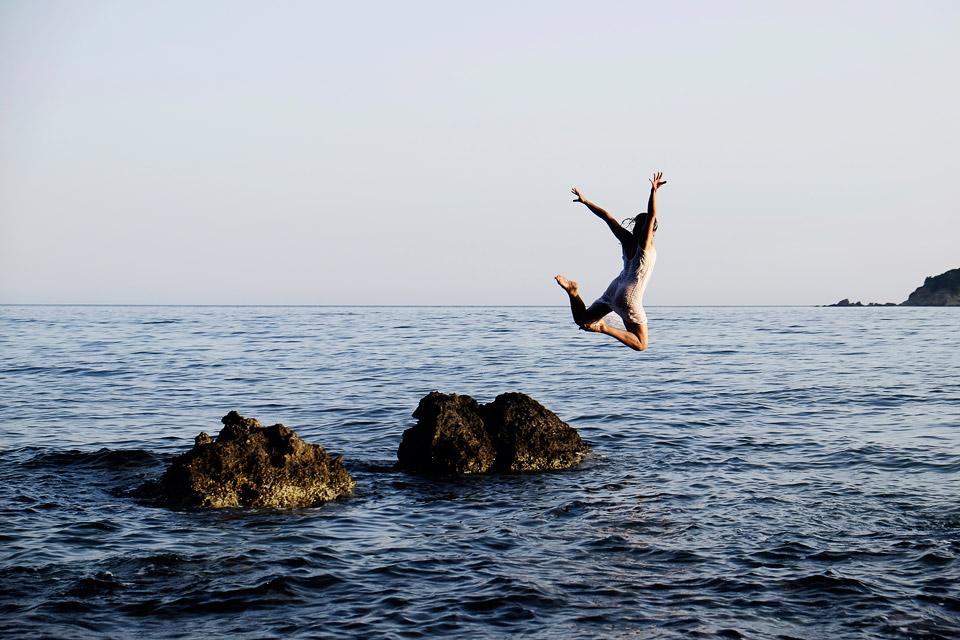 colombian dancer and choreographer at zakynthos, greece • lysabel urbano