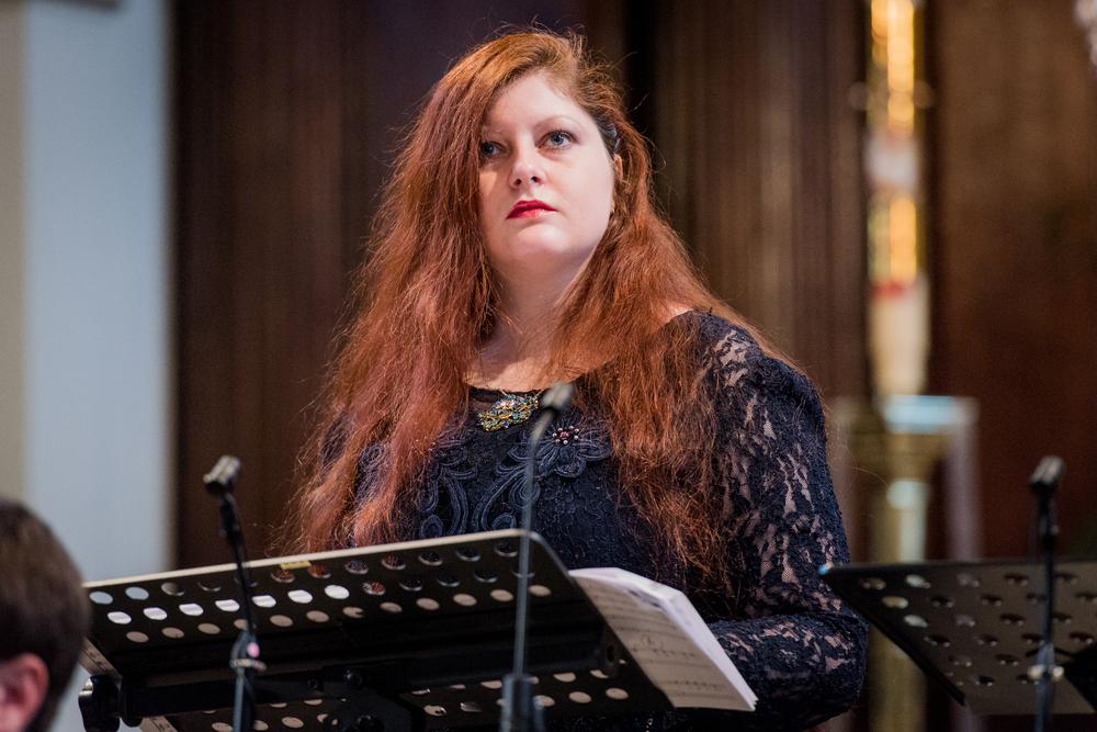 Maria Ostroukhova's mezzo-soprano as Rosmilda. Photograph: Robert Workman