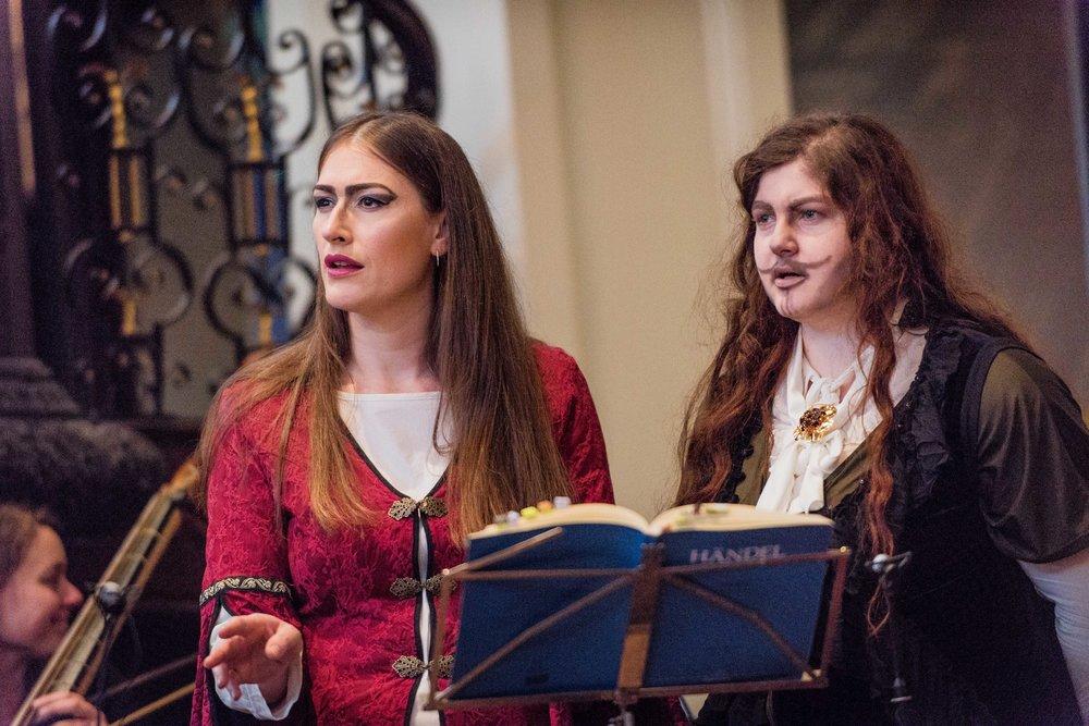 Erica and Maria