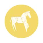 Pferd Spielkiste