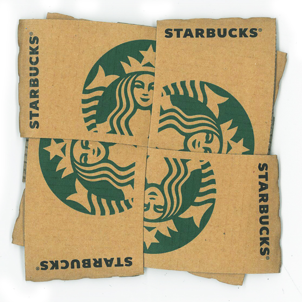 Starbucks Pot Stand