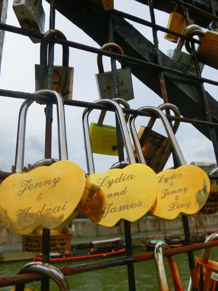 "Jenny writes: ""Great memory, Europe trip 2014!!"""
