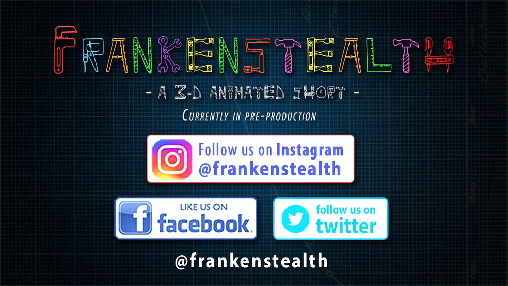 """Join us on this amazing adventure! - To learn more about my latest project, Frankenstealth and ways you can support, please click the """"Learn More"""" tab below. Thank you! ☺"""