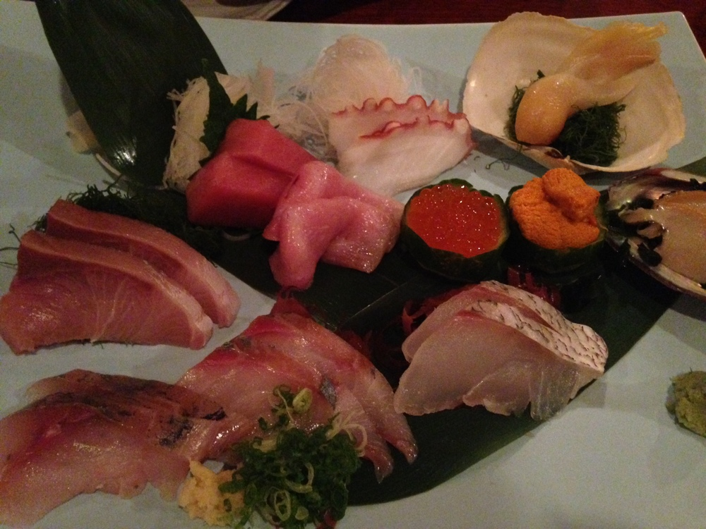 recharged by: a date night for our anniversary. sushi&sashimi + white wine is good for the soul. at least for mine.