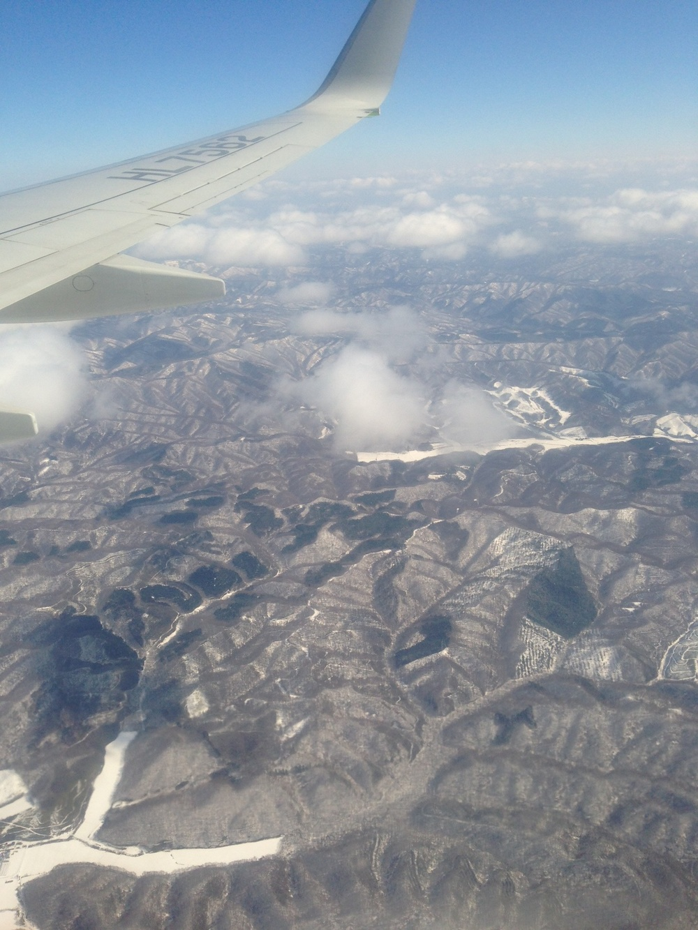 First view of Hokkaido