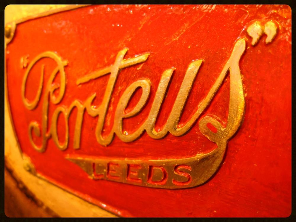 Porteus, the legendary mills in many Scotch distilleries.