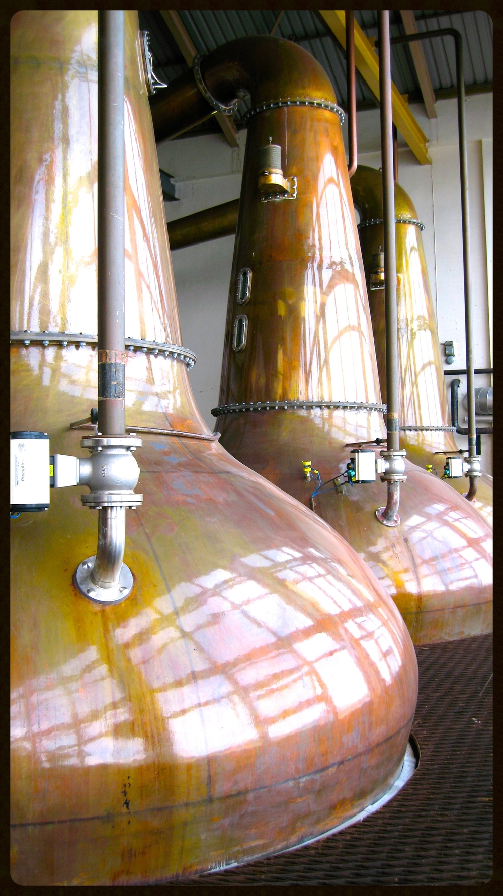 Stills at Caol Ila, Islay.