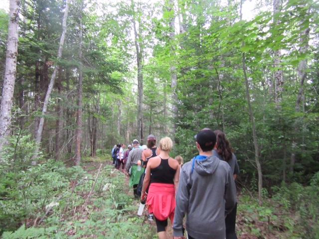 2016 08 27 - Walking the trail.JPG