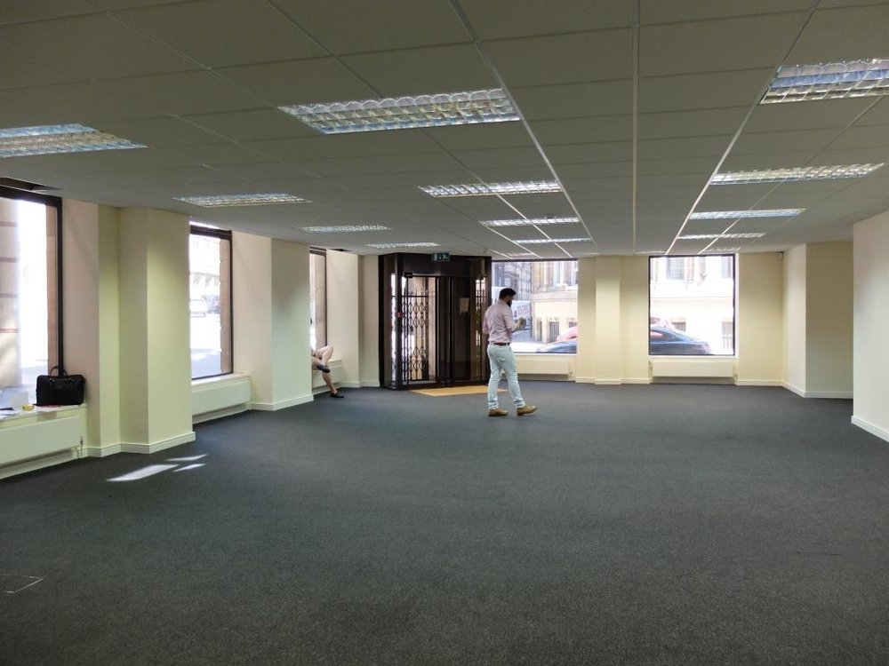 60 Spring Gardens - before the bar fit-out