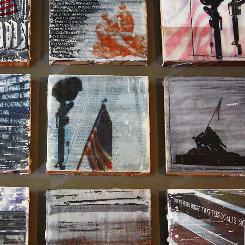 Encaustic Image Panels