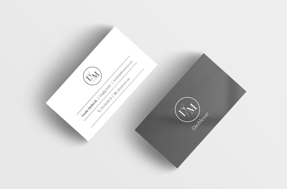 DinMesse - Visuell identitet med logo / konseptlogo,annonser, plakat, bildekor, roll-up,facebookside og nettside