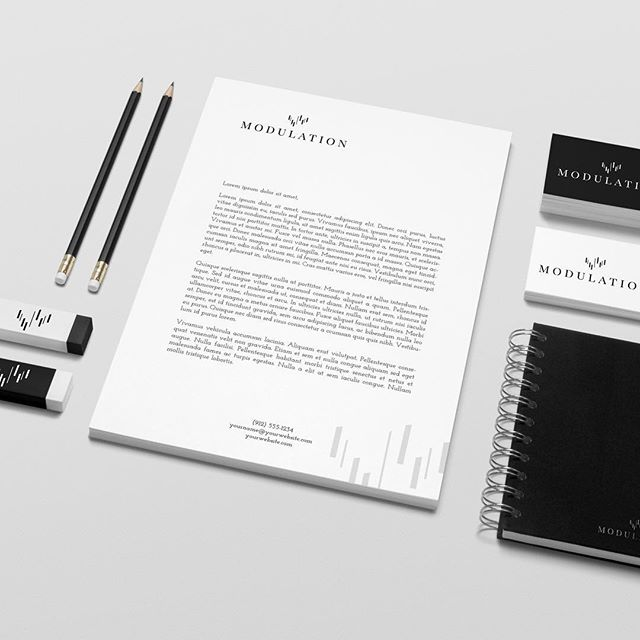 KHGrafisk har levert logo og identitet for investorselskapet Modulation AS