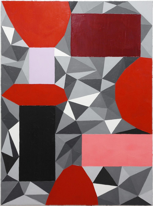 """Clip; Oil on Linen; 24"""" x 32""""; 2011"""