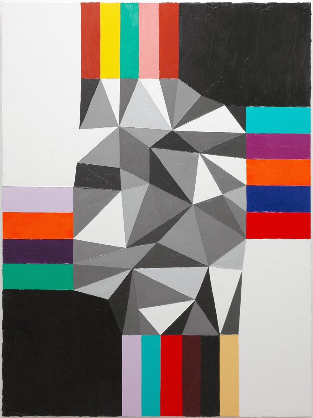 """Love Theft Amour Larcin; Oil on Linen; 24"""" x 32""""; 2011"""