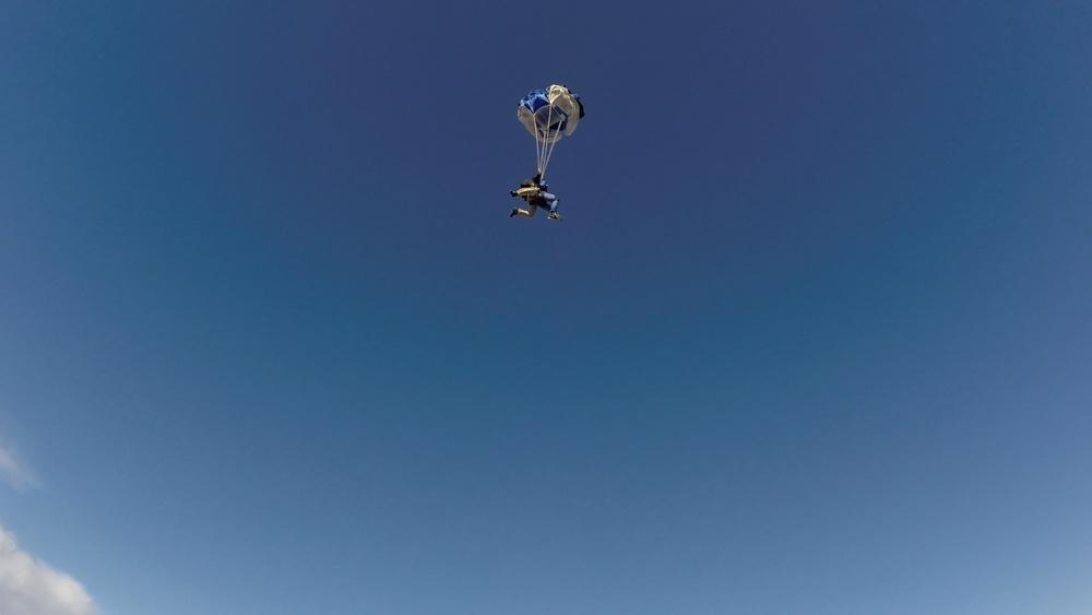 chute opening